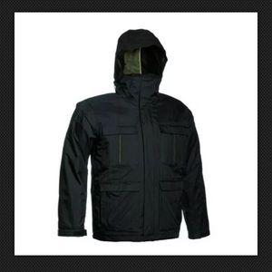 Bonfire Radiant Black Snowboard jacket coat men's
